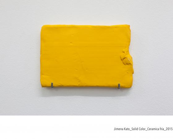 1. Jimena Kato. Solid Color, 2015