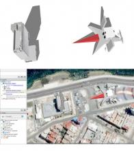 Building Combat, Google Earth Intervention Project, 2007